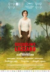 Szczesliwy lazzaro plakat